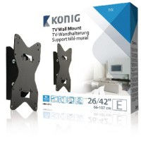 """Support TV mural Inclinable 26 - 42 """" 40 kg"""