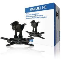 Support Plafond pour projecteur Mouvement intégral 10 kg Noir