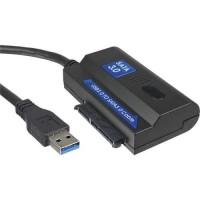 InLine® USB 3.0 convertisseur de câble SATA 6Gb / s, 1.8m avec alimentation
