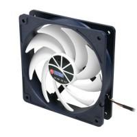 Fan, titane, 140x140x25mm, TFD 14025H12ZP / KU (RB), série KUKRI, avec PWM, calme