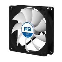 Fan ARCTIC F9, 92x92x25mm, haute performance ventilateurs de cas