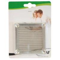 InLine® Lüftergitter, filtre en aluminium, 60x60mm