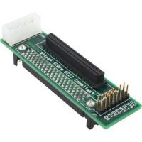 InLine® SCSI U320 adaptateur SCA prise 80 broches sur la prise D mini sub 68 broches
