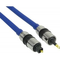 InLine® OPTO Audiokabel, PREMIUM, 3,5mm fiche à fiche Toslink, 5m