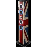 Tour multimédia Shiny drapeau UK