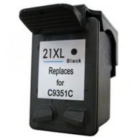 Cartouche remanufacturée remplacement pour HP 21XL ( 1 Noir C9351C )