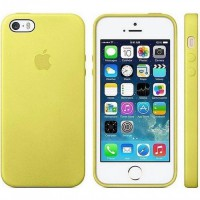 Etui pour iPhone 5S Jaune Apple MF043ZM/A