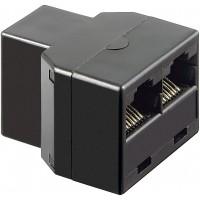 adaptateur RJ45 (8P8C) pour, prise RJ45 2 x (8P8C)