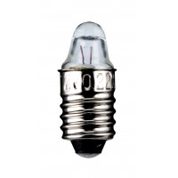 Ampoule lampe à incandescence 0,5 W E10, 2.2 V (DC), 250 mA