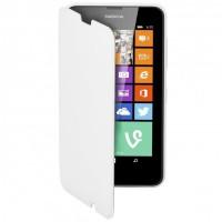 Nokia lumia 630 / lumia 635 Etui à rabat latéral blanc