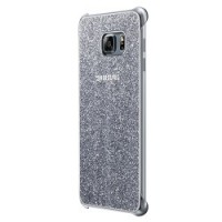 Original Samsung Coque Glitter Étui Housse pour Samsung Galaxy S6 Edge+ - Argent