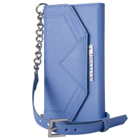 KARL LAGERFELD étui Clutch Classic bleu pour APPLE IPHONE 6+/6S+