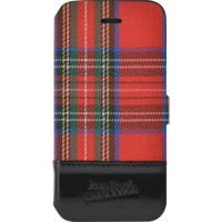 Etui Folio Tartan rouge Jean Paul Gaultier pour iPhone 6 Plus/6S Plus