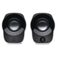 Logitech Haut-parleurs 2.0 Filaire 3.5 mm 1.2 W Noir/Blanc