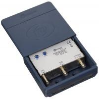 Metronic 440140 Amplificateurs d'extérieur Ampli coupleur de mat UHF/VHF gain 30 db reglable sur chaque voie Bleu