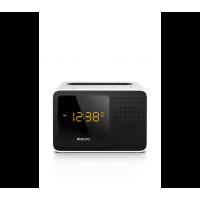 PHILIPS Radio réveil Bluetooth double alarme tuner numérique port USB