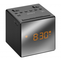 SONY RADIO REVEIL DESIGN BLEND IN DOUBLE ALARME PILES NOIR
