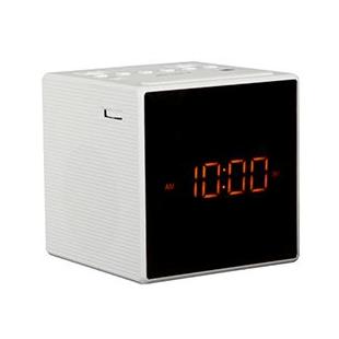 50718 sony radio reveil design blend in double alarme piles blanc ecouteurs audio. Black Bedroom Furniture Sets. Home Design Ideas