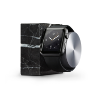 NATIVE UNION dock Luxury Tech marbre noir pour APPLE WATCH