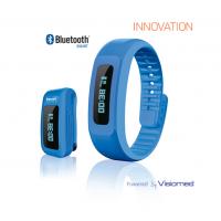 BEWELL My Coach tracker d'activité bluetooth 4.0 bleu