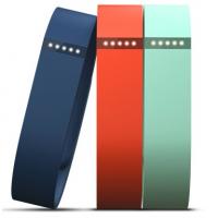 Fitbit 3 Bracelets Rechanges Flex Taille L Bleu Mar/bleu Ciel/mand**